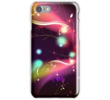 Glowing Flowers & Flourishes iPhone Case/Skin