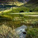 Light & Shadow in the Valley of Glencoe by Angie Latham