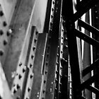 Rotherhithe Bridge - Detail by A.David Holloway