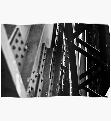 Rotherhithe Bridge - Detail Poster
