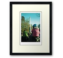If I have seen further.... Framed Print