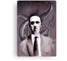 Shuddering At The Nameless Things Canvas Print