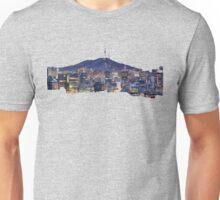 Seoul Cityscape Unisex T-Shirt