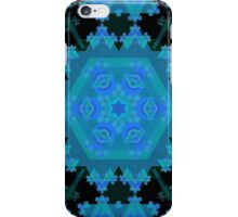 Hexagonal Fractal Pattern iPhone Case/Skin