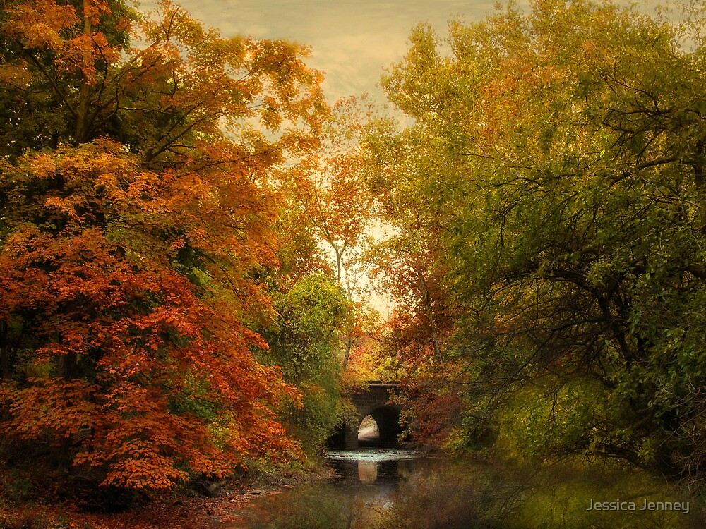 Autumn Attraction by Jessica Jenney