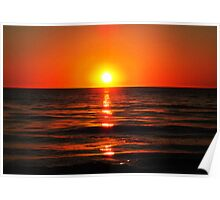 Bright Skies - Sunset Art Poster