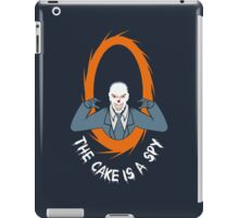 The cake is a SPY iPad Case/Skin