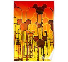 Molten Mickey Poster