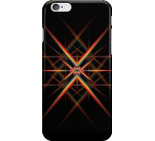 Abstract Rainbow Lines iPhone Case/Skin