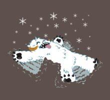 Wampa snow angel  One Piece - Short Sleeve