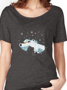 Wampa snow angel  Women's Relaxed Fit T-Shirt