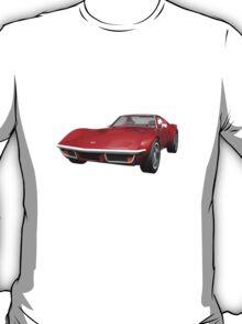 Red 1970 Corvette T-Shirt