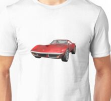 Red 1970 Corvette Unisex T-Shirt
