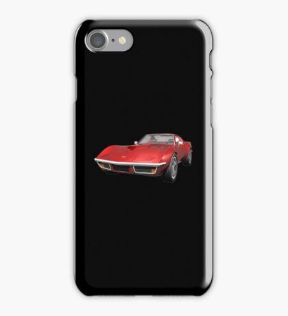 Red 1970 Corvette iPhone Case/Skin