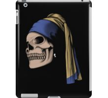 The Skull with a Pearl Earring iPad Case/Skin