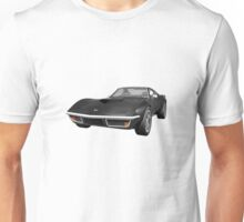 Black 1970 Corvette Unisex T-Shirt