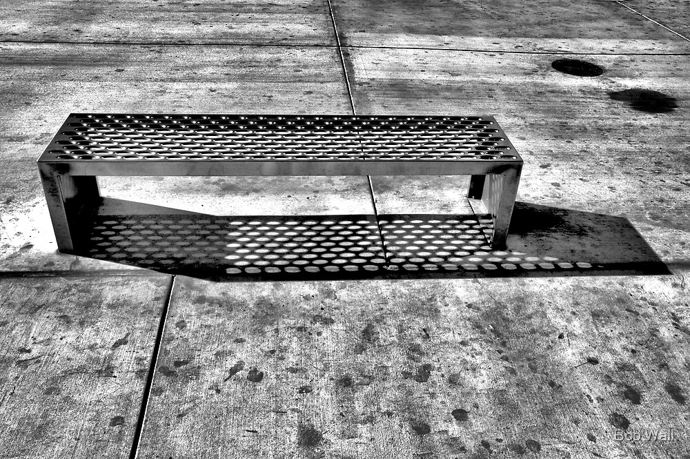 Hot Chrome Bench by Bob Wall