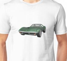 Green 1970 Corvette Unisex T-Shirt