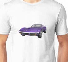Purple 1970 Corvette Unisex T-Shirt