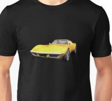 Yellow 1970 Corvette Unisex T-Shirt