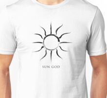 Sun God - Black Edition Unisex T-Shirt