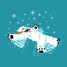 Wampa snow angel  by barry neeson