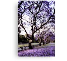 ~ purple rain ~ Canvas Print