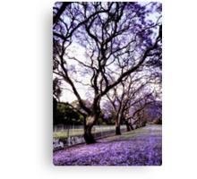 ~ purple rain ~ Canvas Print