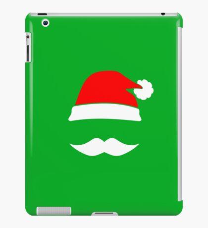 Santa Hat & Mustache iPad Case/Skin