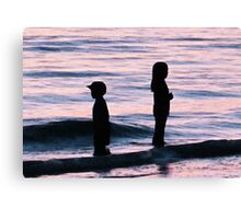 Sunset Art - Together Apart Canvas Print