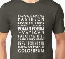 Rome City Roll Unisex T-Shirt