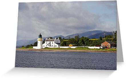 Lighthouse on the Firth of Lorne/Scotland by globeboater