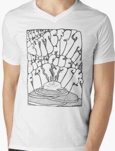 Big ol' Pile of Flapjacks Mens V-Neck T-Shirt