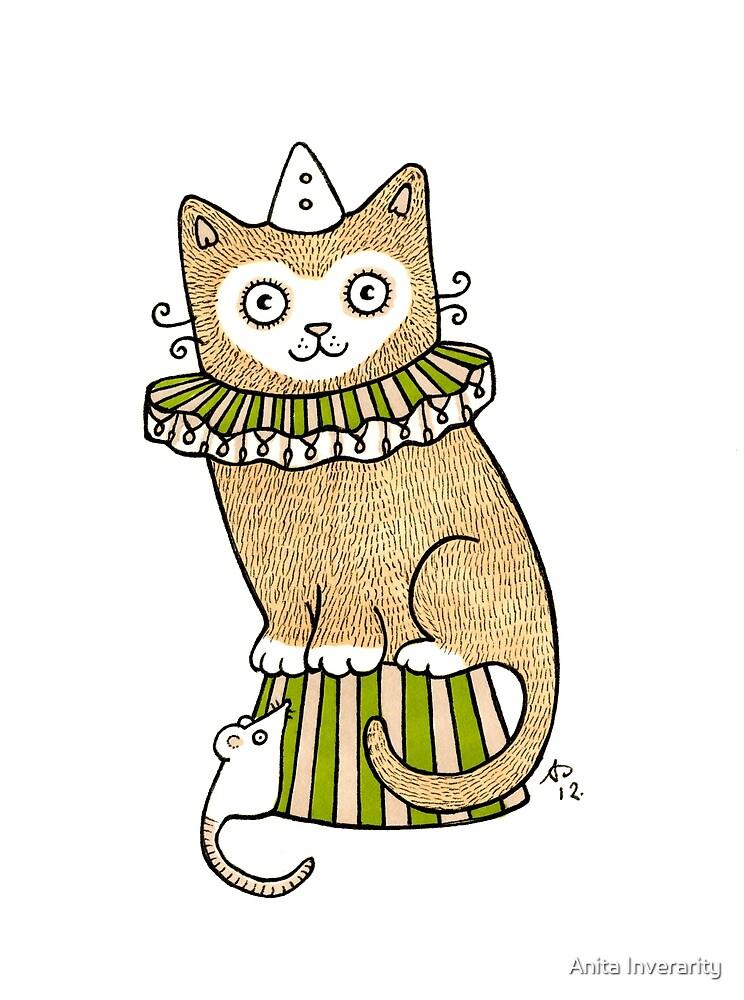 Circus Cat by Anita Inverarity