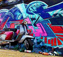 Lambretta Graffiti ONE by AArdMedia