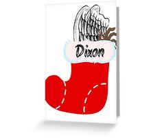 Dixon Stocking Greeting Card