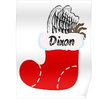 Dixon Stocking Poster