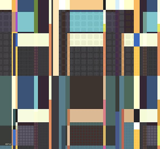City Blocks And Buildings by perkinsdesigns