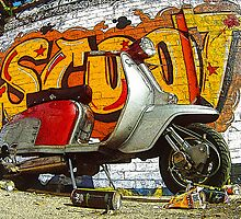 Lambretta Graffiti Scoot by AArdMedia