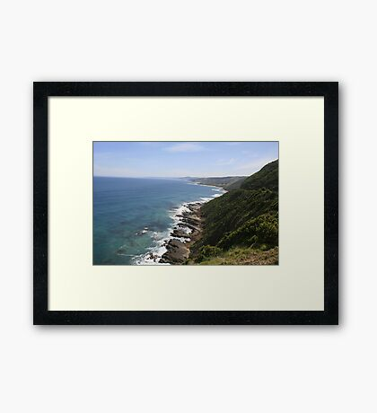 Views along the Great Ocean Road, Victoria. 1 Framed Print