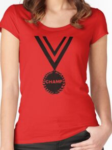 CHAMP Women's Fitted Scoop T-Shirt