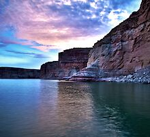Sunset over Lake Powell by Phil Herbert
