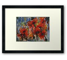 """Poppies"" Framed Print"