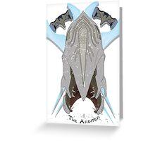 The Arbiter Greeting Card