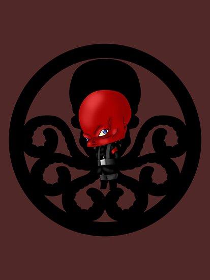 Chibi Red Skull by artwaste