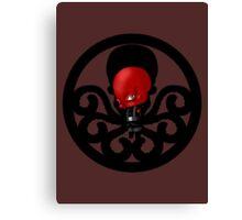 Chibi Red Skull Canvas Print