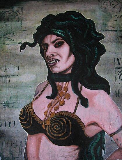 Medusa by aglastudio