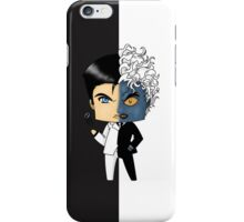 Chibi Two-Face iPhone Case/Skin