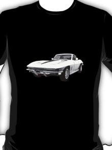 White 1967 Corvette Stingray T-Shirt