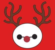 Reindeer Baymax by TrinketFox